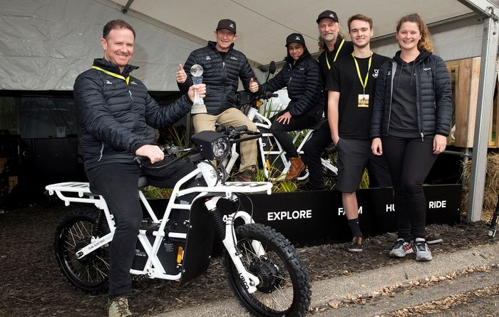 International Innovation Award goes to electric bike