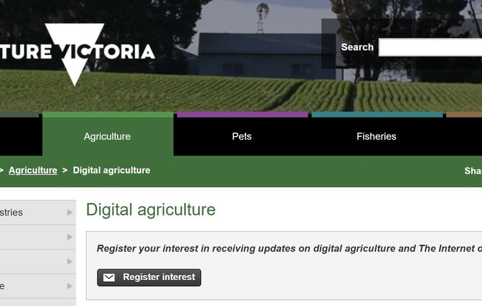 On-farm Internet of Things trial