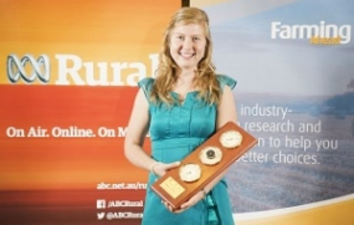 Youngster set to shine in the agriculture industry