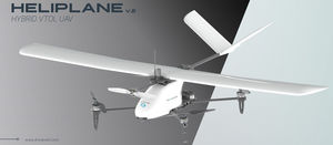 Heliplane v2 VTOL Drone launched