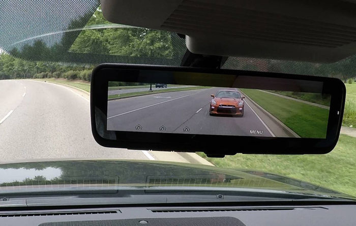 Patrol now has smart rear view mirror