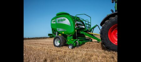 McHale V8 baler adds grunt to fodder making