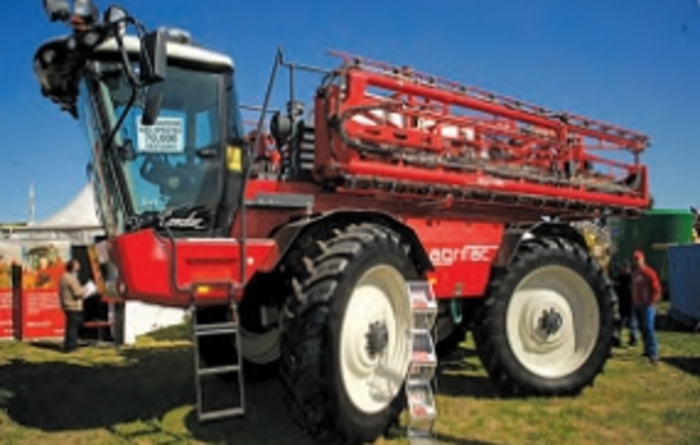 Agrifac self-propelled sprayer
