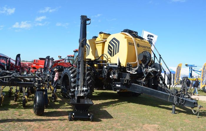 Seed Master cart goes on show