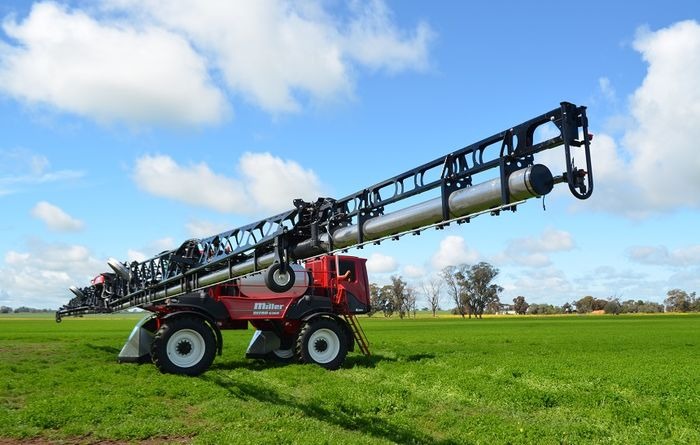 Giddy up Kondinin Group self-propelled sprayer testing