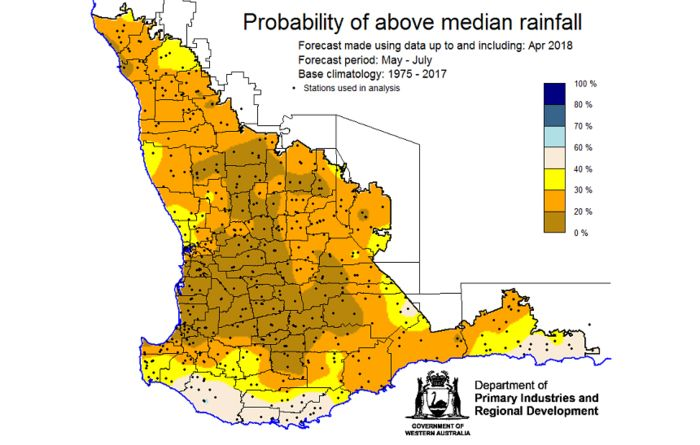 Bureau winter outlook a challenge for WA grain growers