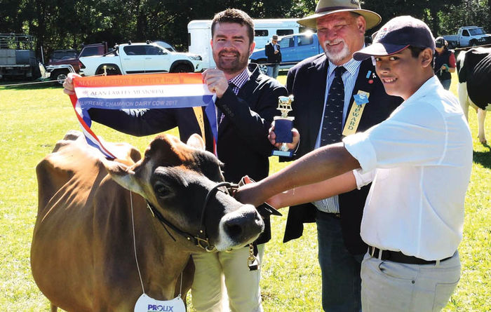Dairy farmer with a thirst for farming