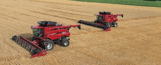 Axial-Flow combine retains value