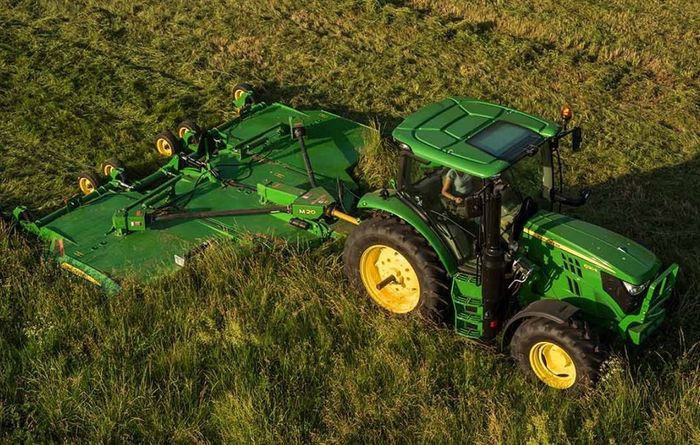 New trailed mowers from John Deere