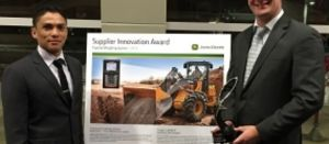 Trimble receives John Deere supplier innovation award