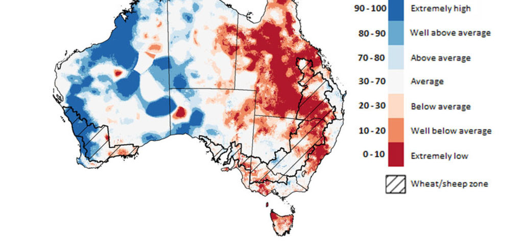 ABARES report shows soil moisture differences
