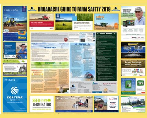 New safety guides available for livestock and broadacre farmers