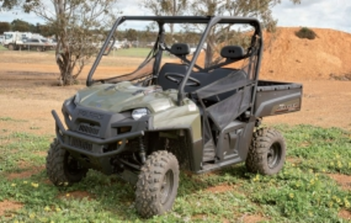Polaris Ranger UTV a powerful presence