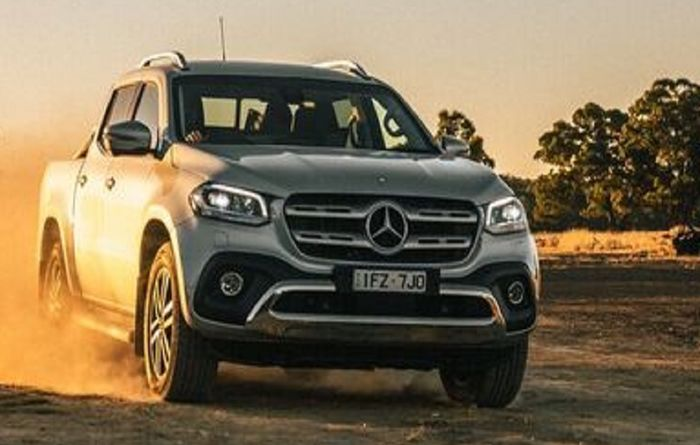Merc X Class hits the road