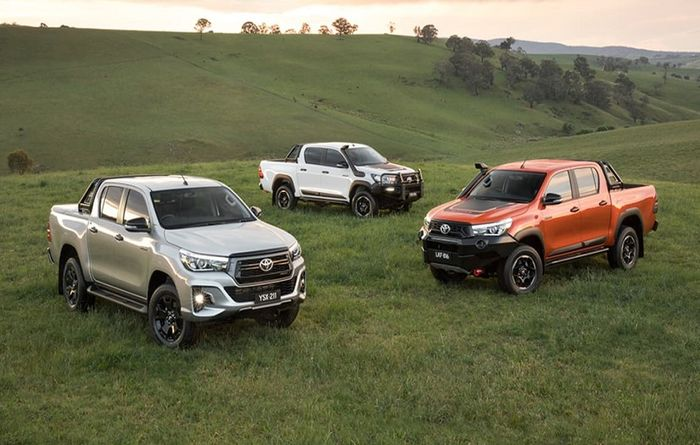 New Hilux models get Rugged facelift