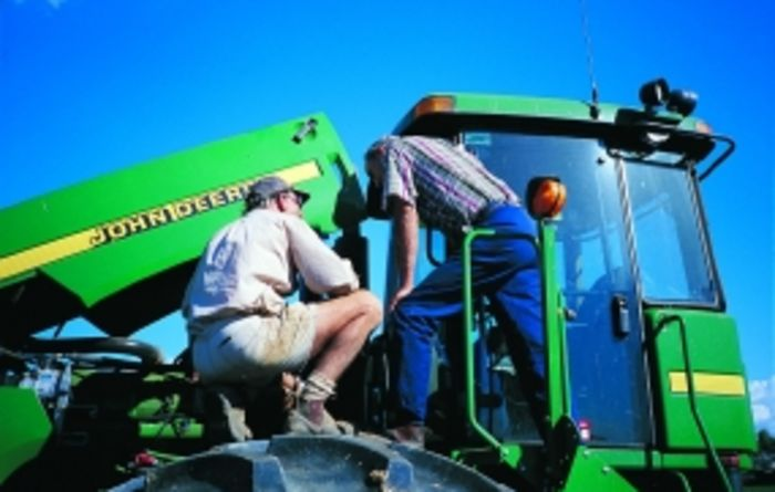 Strong sales for farm machinery