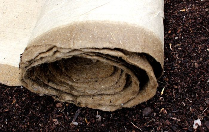 Biodegradable weed mat to help soil health